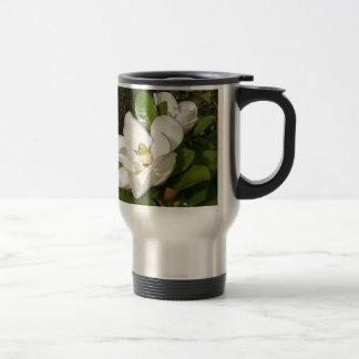 Magnolien-Blüte Reisebecher