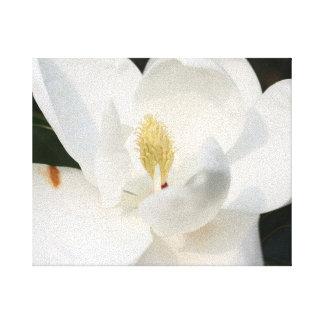 Magnolien-Leinwand-Druck Leinwanddruck