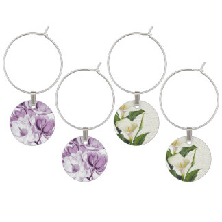 Magnolien-lila Traum Glasmarker