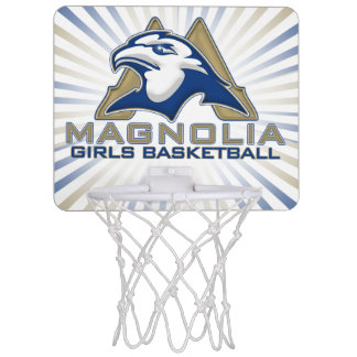 Magnolien-Mädchen-Basketball Mini Basketball Ringe