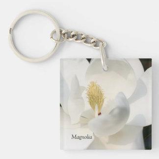 Magnolien-Schlüsselkette Schlüsselanhänger