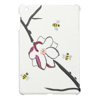 Magnolien-und Honig-Bienen iPad Mini Hülle