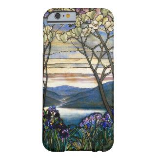 Magnolien-und Iris-Buntglas-Fenster Barely There iPhone 6 Hülle