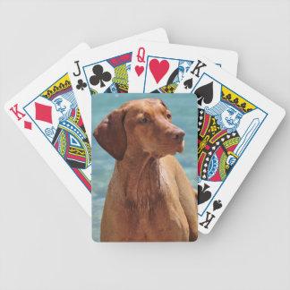 Magyar Vizsla Hund Bicycle Spielkarten