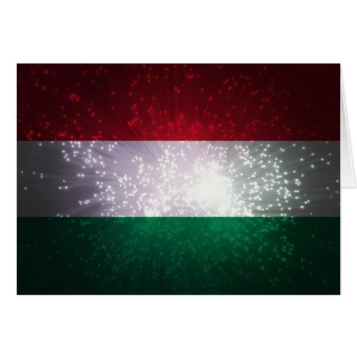 Magyar zászló grußkarten