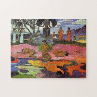 """Mahana kein Atua"" - Paul Gauguin Puzzle"
