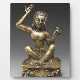 Mahasiddha, der Blumen-König Fotoplatte