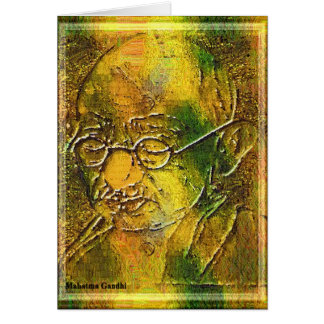 Mahatma- Gandhikarte Karte
