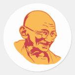 Mahatma- Gandhiporträt-Aufkleber