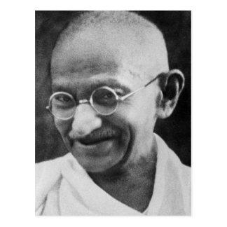 Mahatma- Gandhiporträt-Fotografie Postkarte