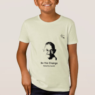 Mahatma- GandhiT - Shirt - Kinder Bio