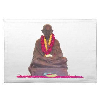 Mahatma- Gandhivater der Nation Indien Tischsets