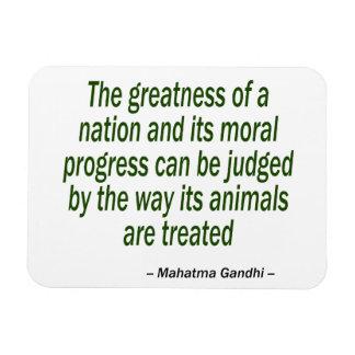 Mahatma- Gandhizitat Magnet