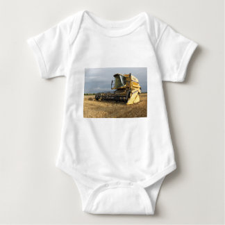 Mähdrescher Baby Strampler