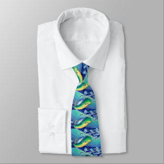 Mahimahi (Dolphinfish) Personalisierte Krawatte