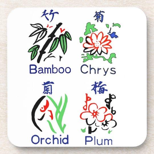 Mahjong Blumen