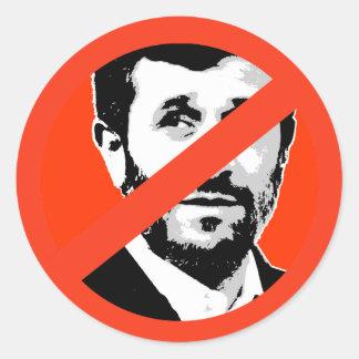 Mahmud Ahmadinedschad Runder Sticker