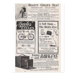 Mai 1895 Harpers Anzeigen Postkarte