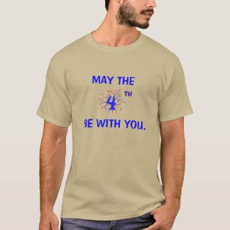 Mai ist das vierte mit Ihnen T-Shirt