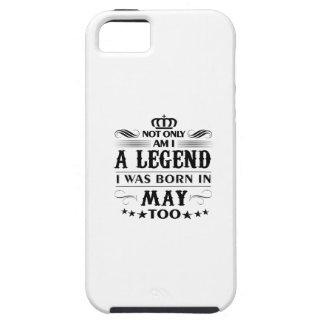 Mai-Monat Legendent-shirts iPhone 5 Case