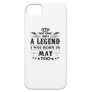 Mai-Monat Legendent-shirts iPhone 5 Hüllen