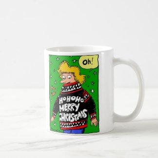 Mai sind- alle Ihre Weihnachtsstrickjacken warme Kaffeetasse
