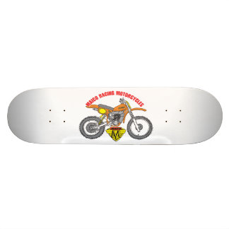 Maico Motocross-Cartoon Skateboard Skate Board