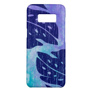 Maikai hawaiisches Monstera Blatt-lila Case-Mate Samsung Galaxy S8 Hülle