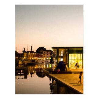 Mailand, das den Kanal übersieht Postkarte