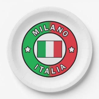 Mailand Italien Pappteller