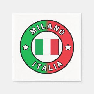 Mailand Italien Serviette