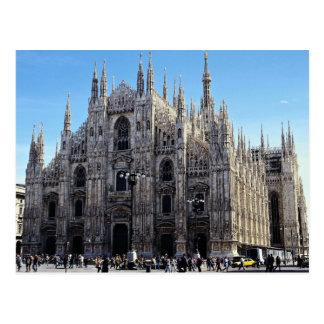 Mailand-Kathedrale, Italien Postkarte