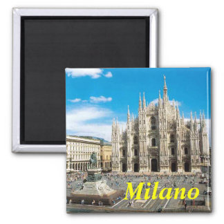 Mailand-Magnet Quadratischer Magnet