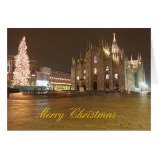 Mailandduomo-Weihnachtskarte Karte