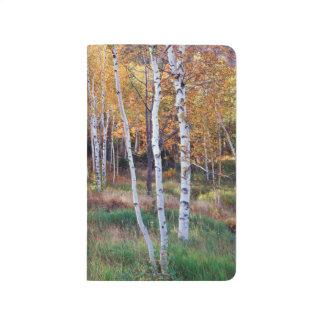 Maine, Acadia-Nationalpark, Herbst Taschennotizbuch