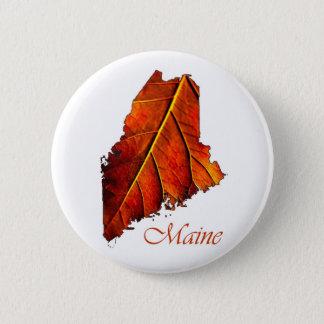 Maine-Andenken-Geschenkartikel Runder Button 5,1 Cm