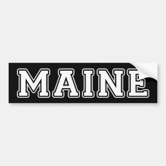 Maine Autoaufkleber