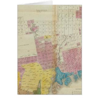 Maine-Bewilligungen und Landverkäufe, Maine Karte