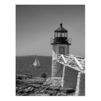 Maine_Black+White_7 Postkarte