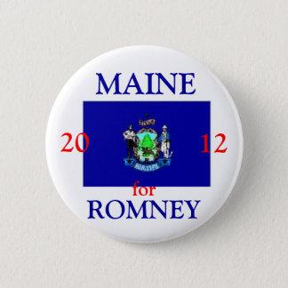 Maine für Romney 2012 Runder Button 5,1 Cm