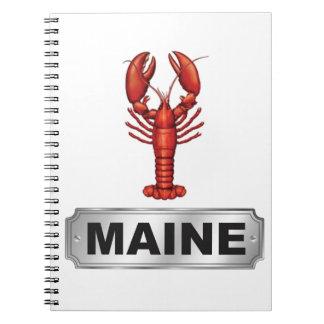 Maine-Hummer Notizblock