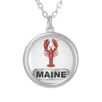 Maine-Hummer Versilberte Kette