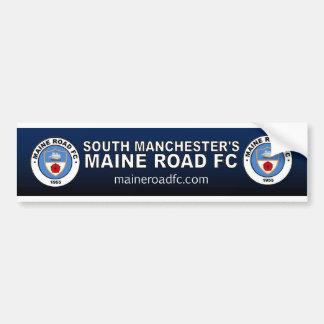 "Maine-Straße FC (Auto-""Stoß"" Aufkleber) Autoaufkleber"