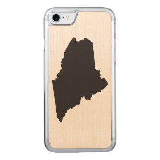 Maine-Telefon Carved iPhone 8/7 Hülle
