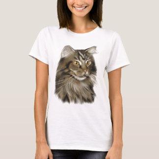 Maine-Waschbär-Katze T-Shirt