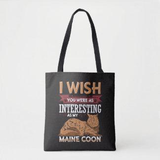 Maine-Waschbär-Katze Tasche