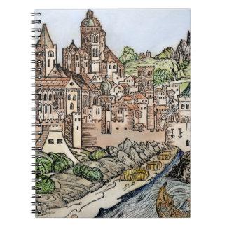 Mainz, Deutschland, 1493 Spiral Notizblock