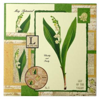Mais Blume Große Quadratische Fliese