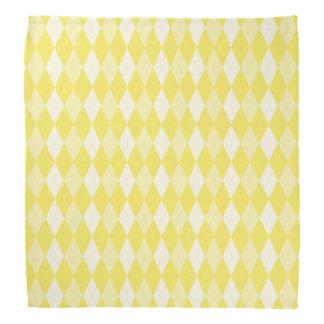Mais-gelbes Rauten-blasses Goldkleine Diamant-Form Halstuch