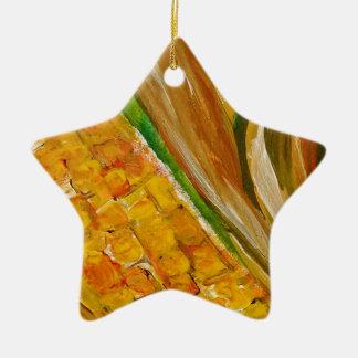 Mais in der Hülsen Keramik Ornament